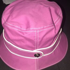 NWT Coach Sun hat with signature inside